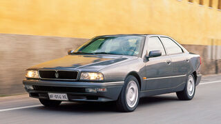 Maserati Quattroporte IV 2.8-24, Frontansicht