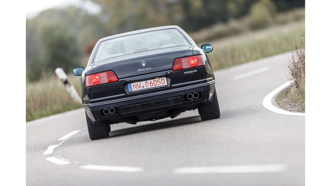 Maserati-Quattroporte-IV-Heck
