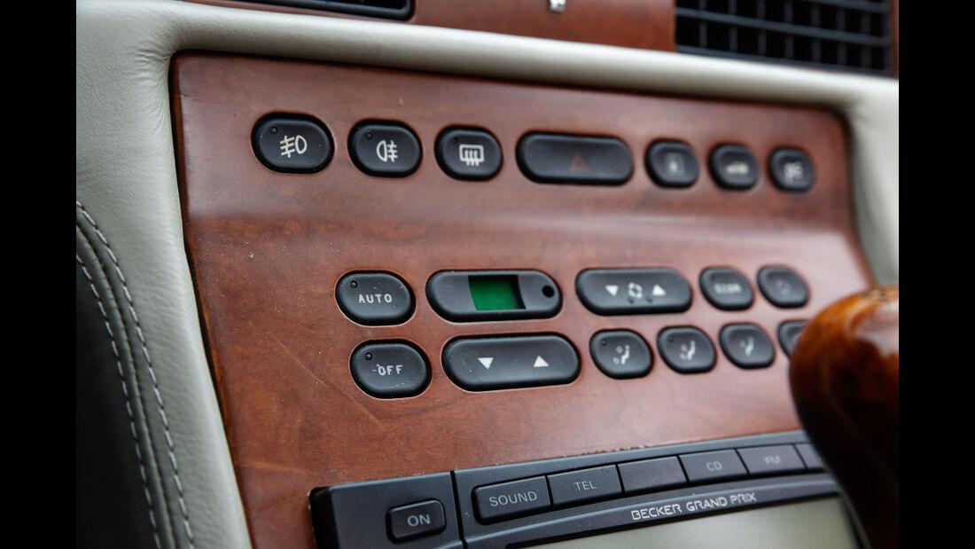 Maserati Quattroporte IV Ottocilindri Evoluzione, Bedienelemente