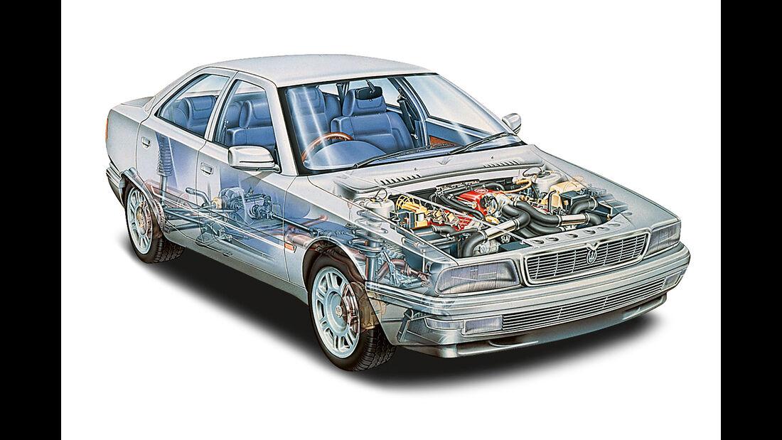 Maserati Quattroporte IV Ottocilindri Evoluzione, Durchsicht