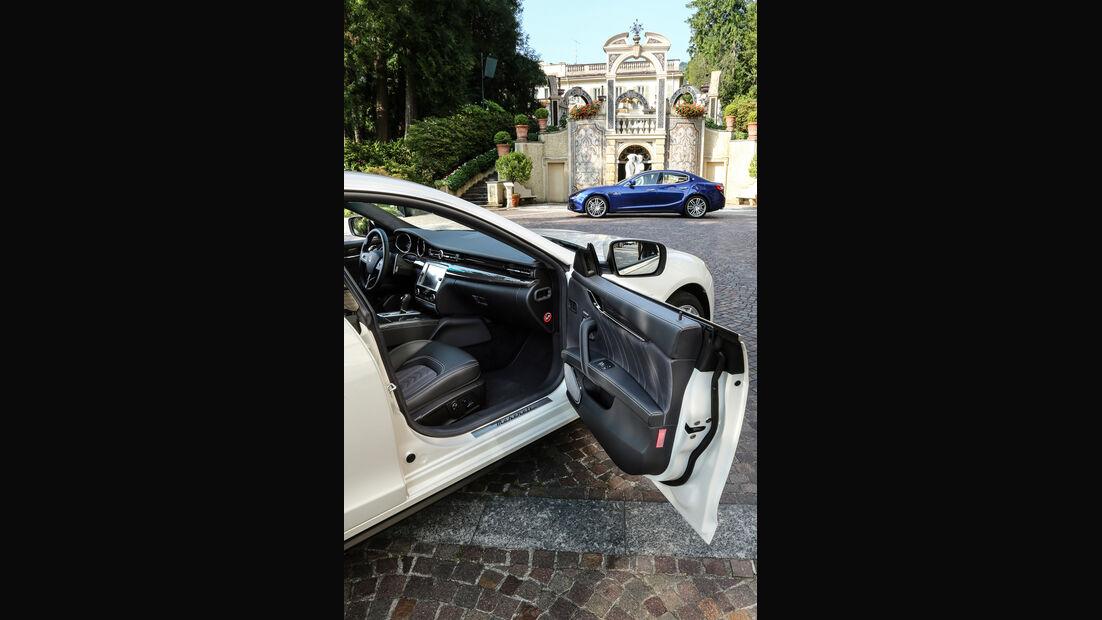 Maserati Quattroporte, Interieur
