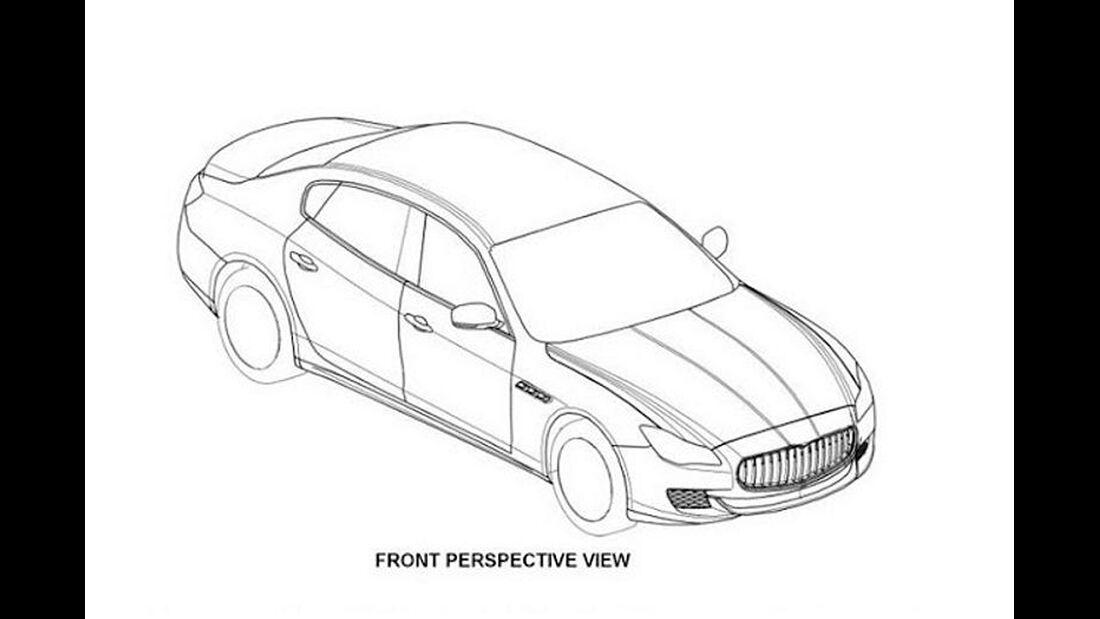 Maserati Quattroporte Patentamt