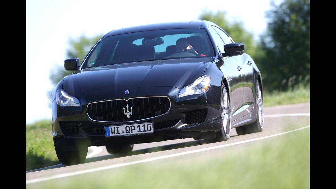 Maserati Quattroporte S Q4, Frontansicht