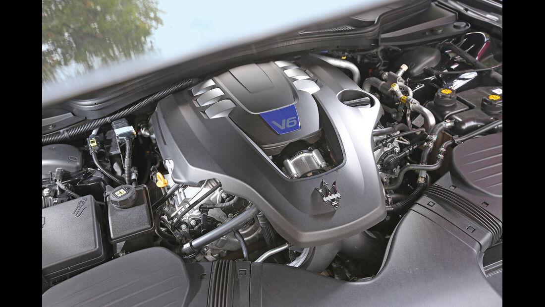 Maserati Quattroporte S Q4, Motor