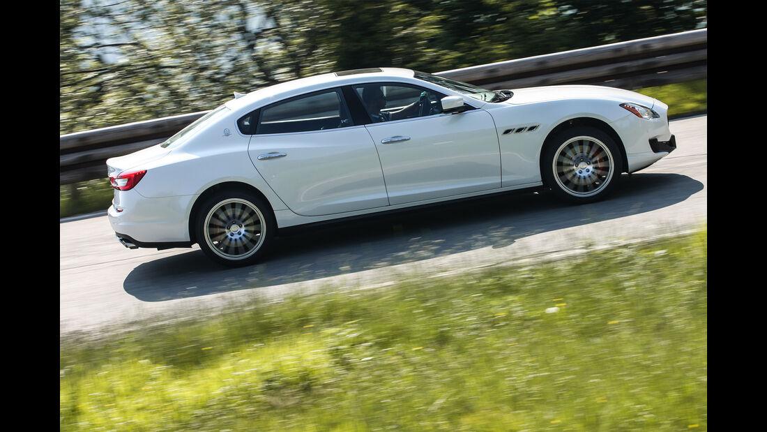 Maserati Quattroporte, Seite