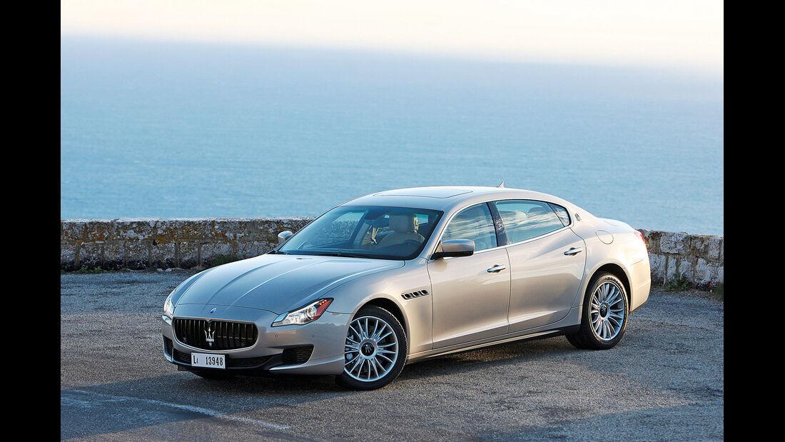 Maserati Quattroporte, Seitenansicht