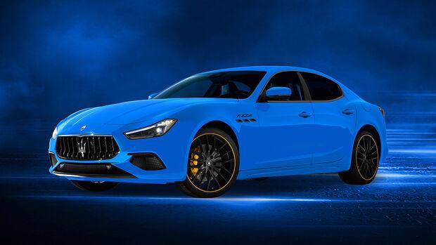 Maserati Sonderedition F Tributo Ghibli