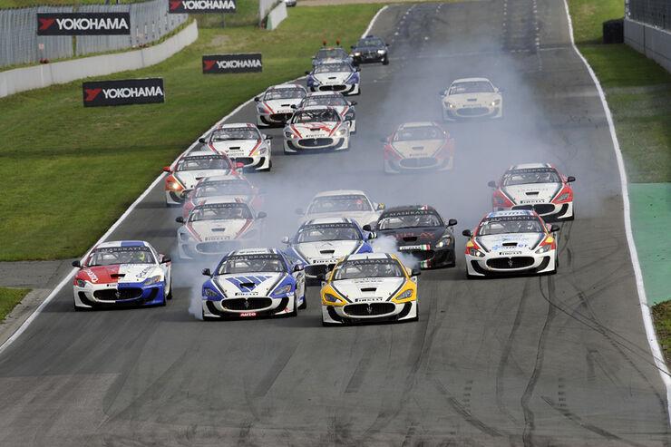 Maserati Trofeo Gran Turismo MC, Start