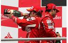 Massa Alonso 2010 GP Deutschland