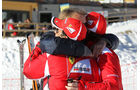 Massa Alonso Ferrari FF Wroom 2012 Slalom