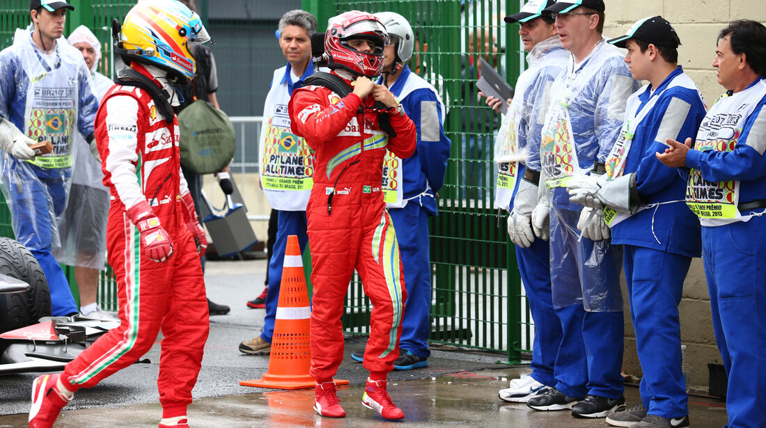 Massa & Alonso - Ferrari - GP Brasilien - 23. November 2013