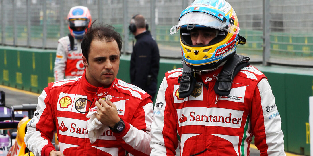 Massa & Alonso - GP Australien 2013