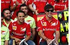 Massa & Alonso GP Deutschland 2012