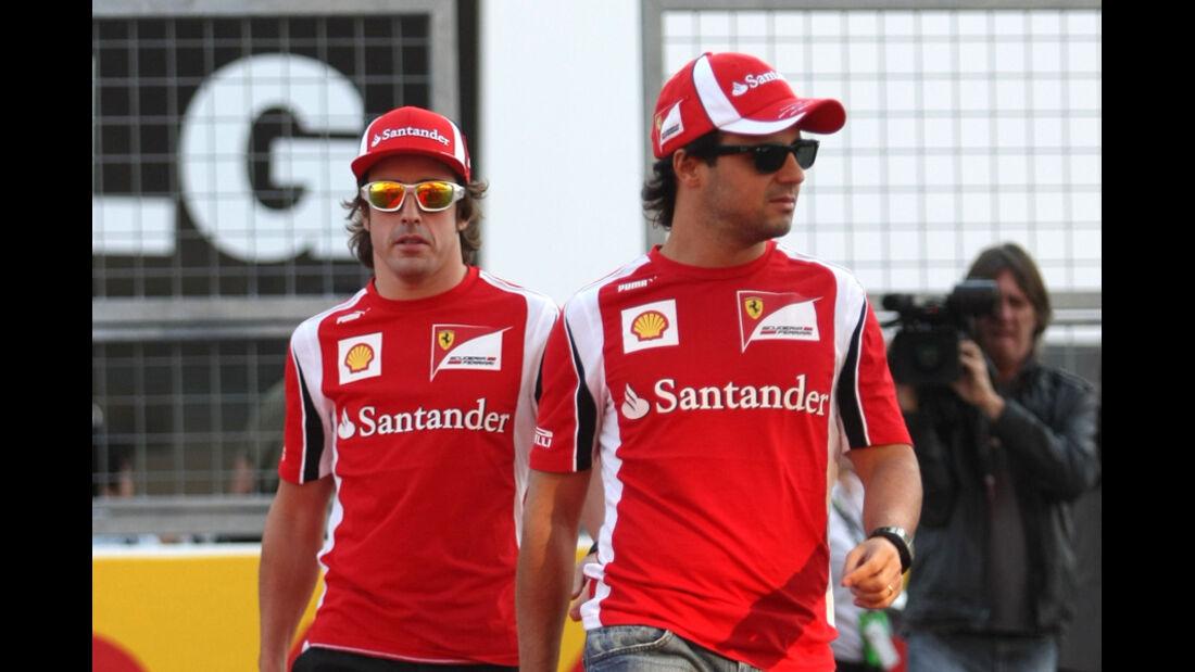Massa & Alonso - GP Japan - Suzuka - 6. Oktober 2011