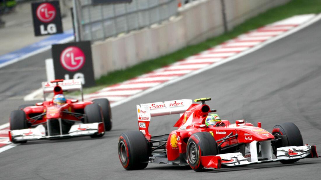 Massa & Alonso - Korea 2011