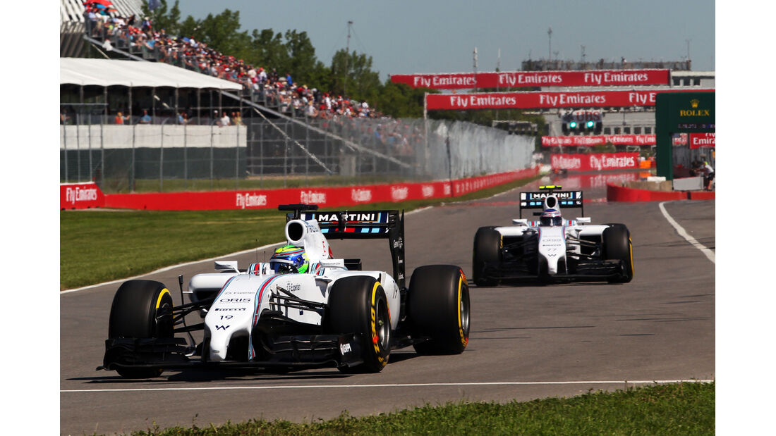 Massa & Bottas - GP Kanada 2014