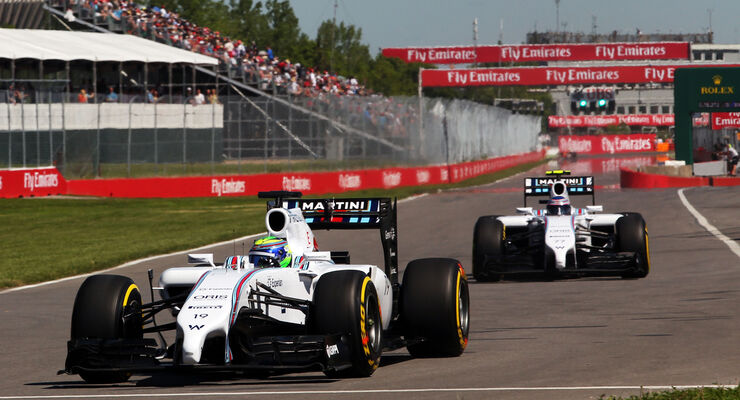 Massa & Bottas - Williams - Formel 1 - GP Kanada - Montreal - 7. Juni 2014