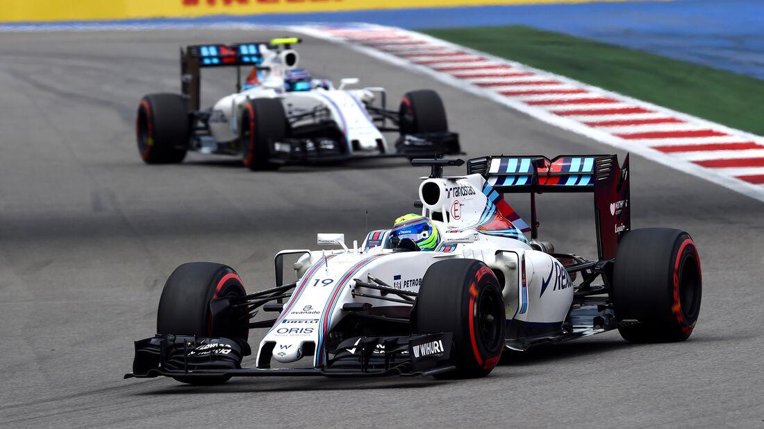 Massa & Bottas - Williams - GP Russland 2016