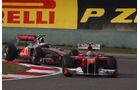 Massa Button GP China 2011