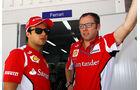 Massa & Domenicali - Ferrari - Formel 1 - GP Brasilien - Sao Paulo - 22. November 2012
