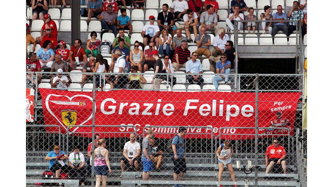 Massa-Fans - Formel 1 - GP Italien - Monza - 2. September 2016