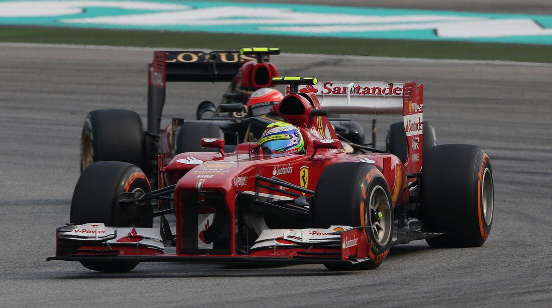 Massa - Formel 1 - GP Malaysia 2013