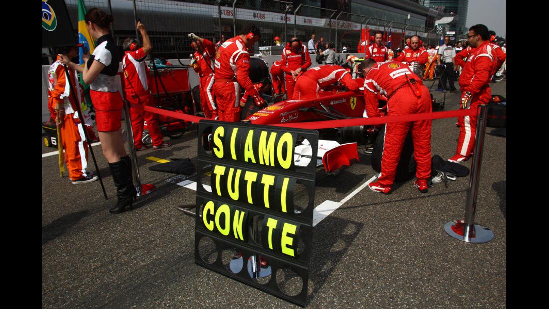 Massa GP China 2011