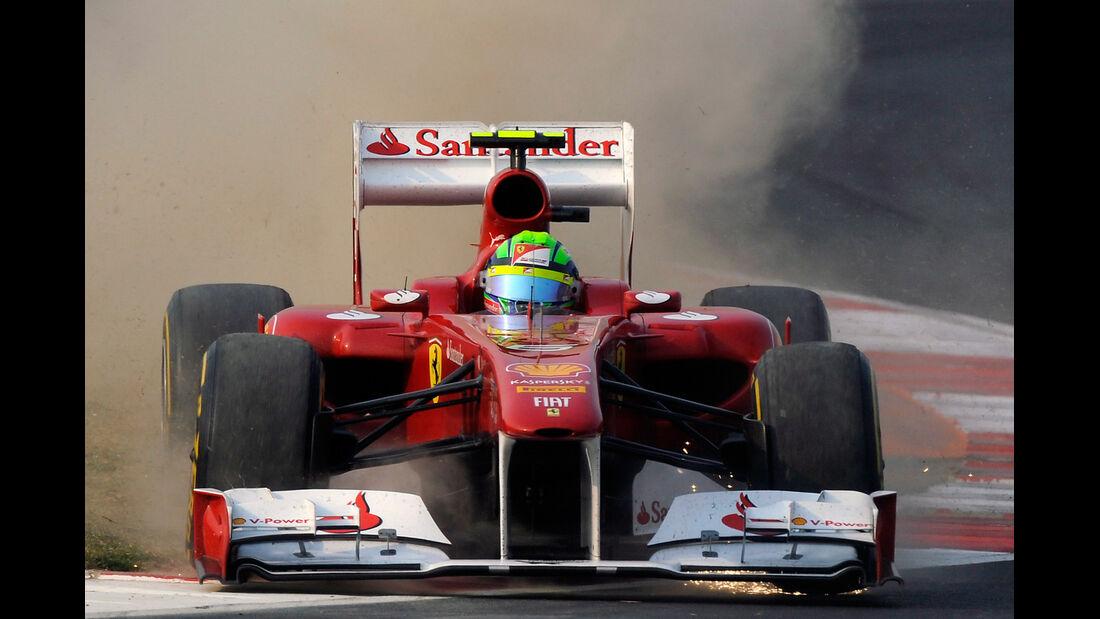 Massa GP Indien 2011