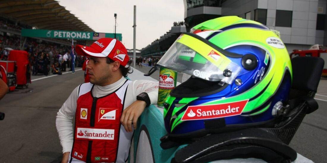 Massa GP Malaysia 2011 Formel 1
