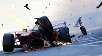 Massa - GP Monaco - Crash - 2013