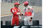 Massa & Hamilton - GP Brasilien 2008