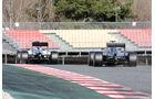 Massa & Hamilton - Williams & Mercedes - Formel 1-Test - Barcelona - 3. März 2016