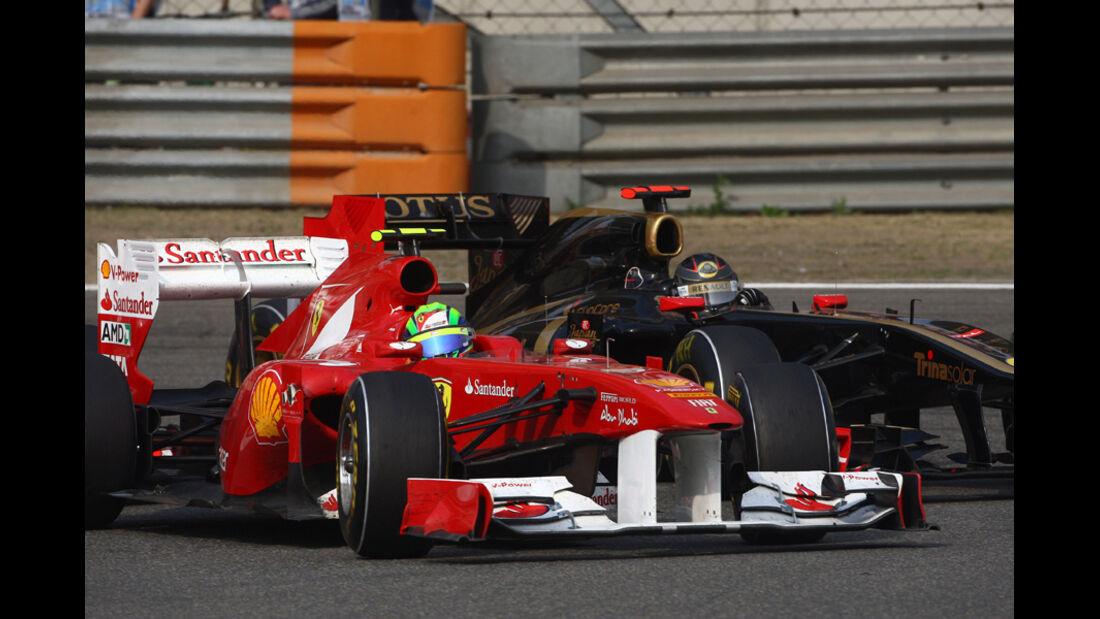 Massa Heidfeld GP China 2011