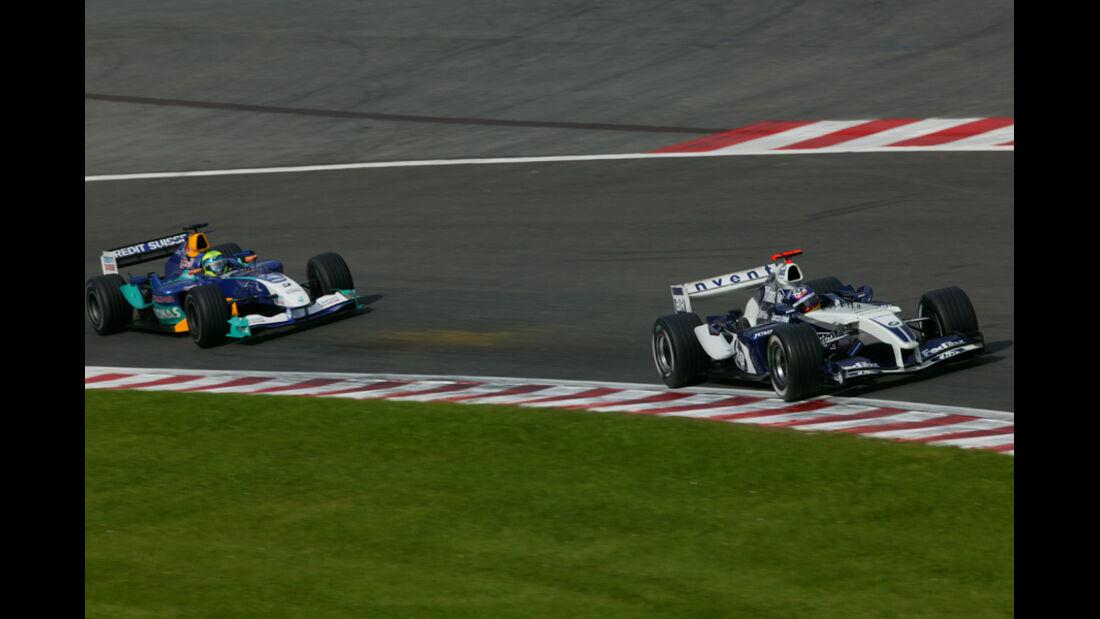 Massa Montoya GP Beögien 2004