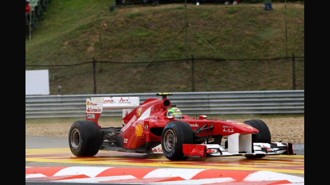 Massa - Noten - GP Ungarn - Formel 1 - 31.7.2011
