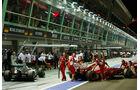 Massa & Rosberg - Formel 1 - GP Singapur - 22. September 2012