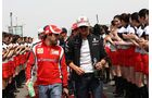 Massa Schumacher GP China 2011 Formel 1