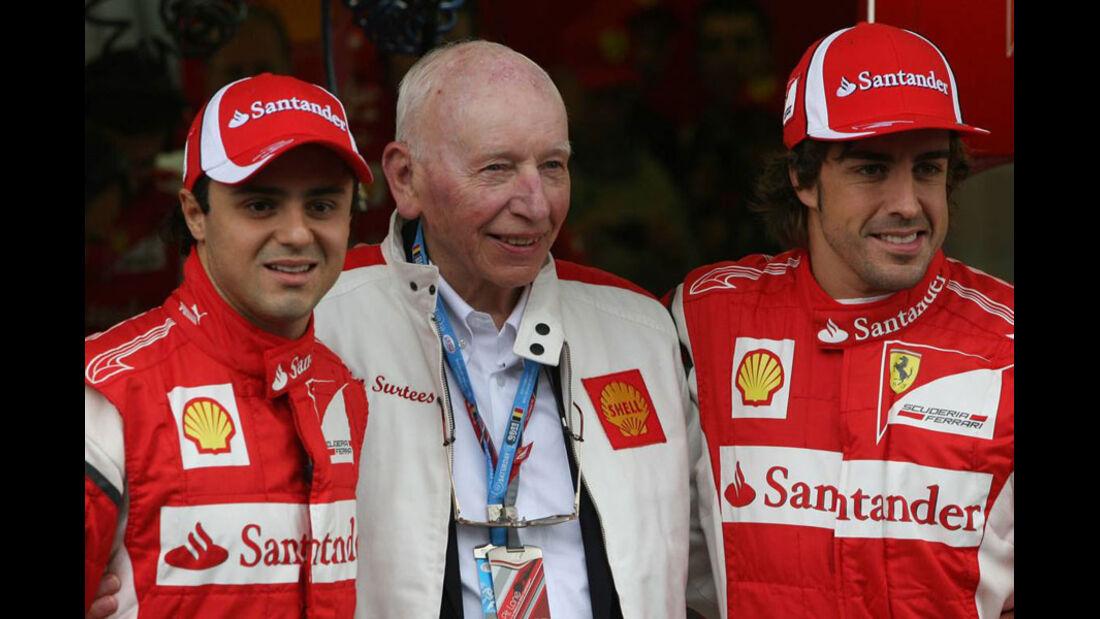 Massa, Surtees & Alonso - GP Belgien - Qualifying - 27.8.2011