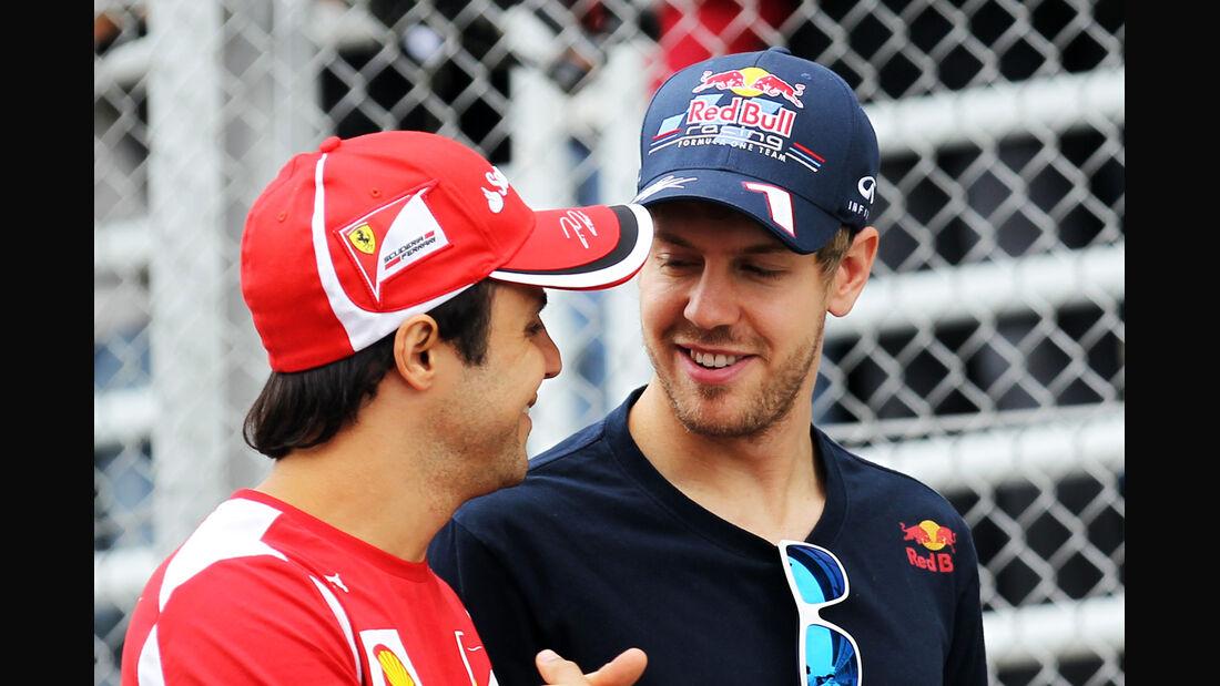 Massa & Vettel GP Brasilien 2012