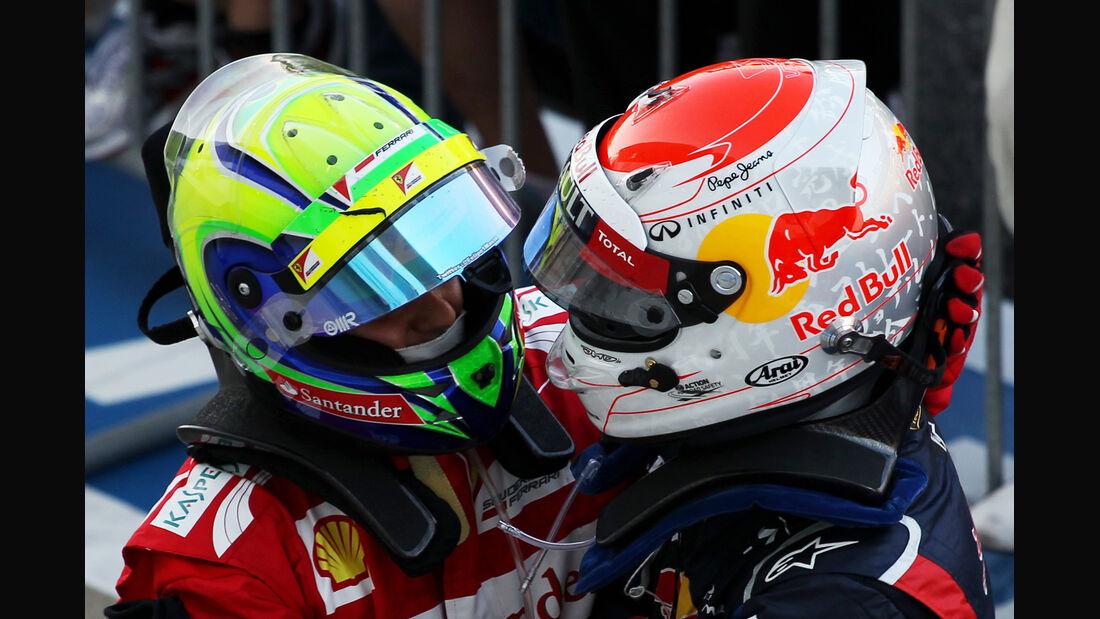 Massa & Vettel GP Japan 2012