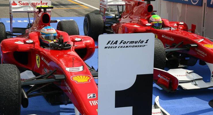 Massa und Alonso