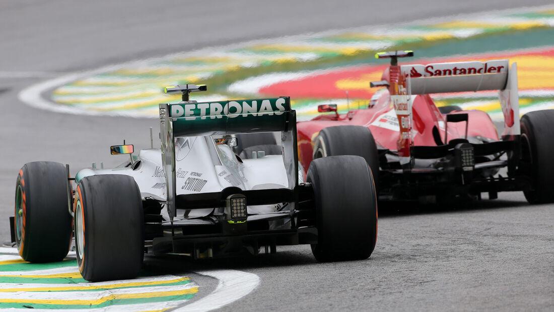 Massa vs. Hamilton - GP Brasilien 2013