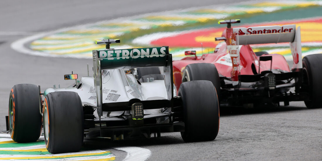 Massa vs. Hamilton - GP Brasilien 2013