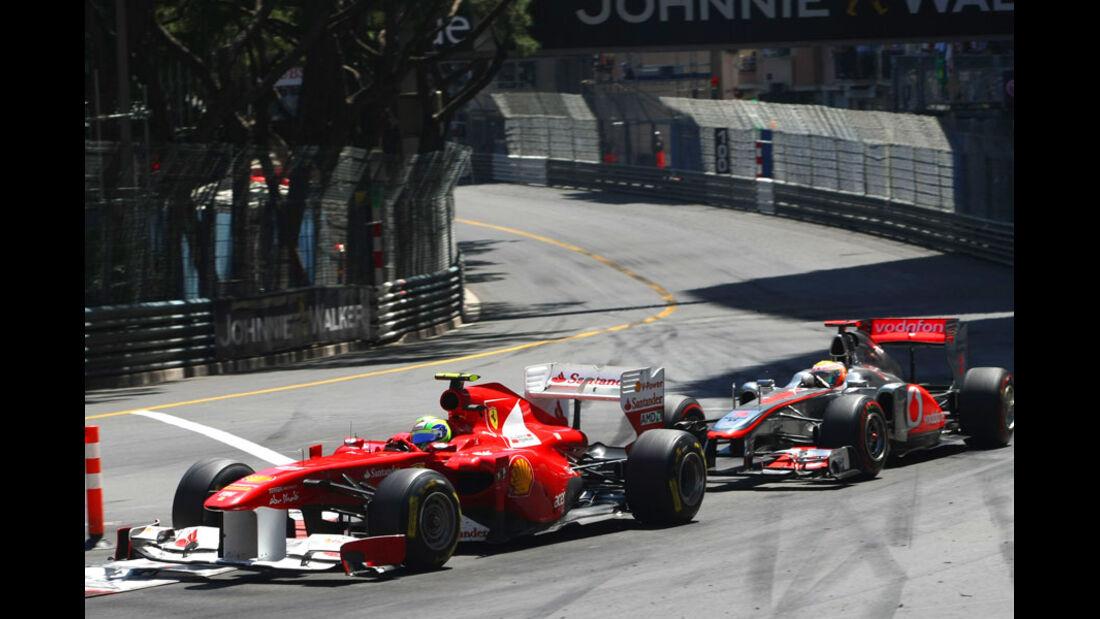 Massa vs. Hamilton GP Monaco 2011