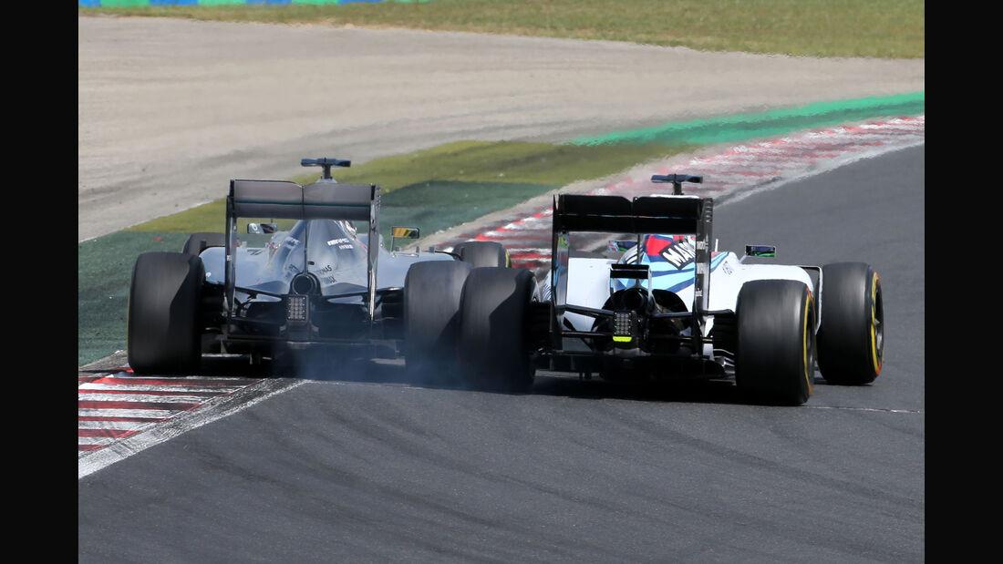 Massa vs. Hamilton - GP Ungarn 2015