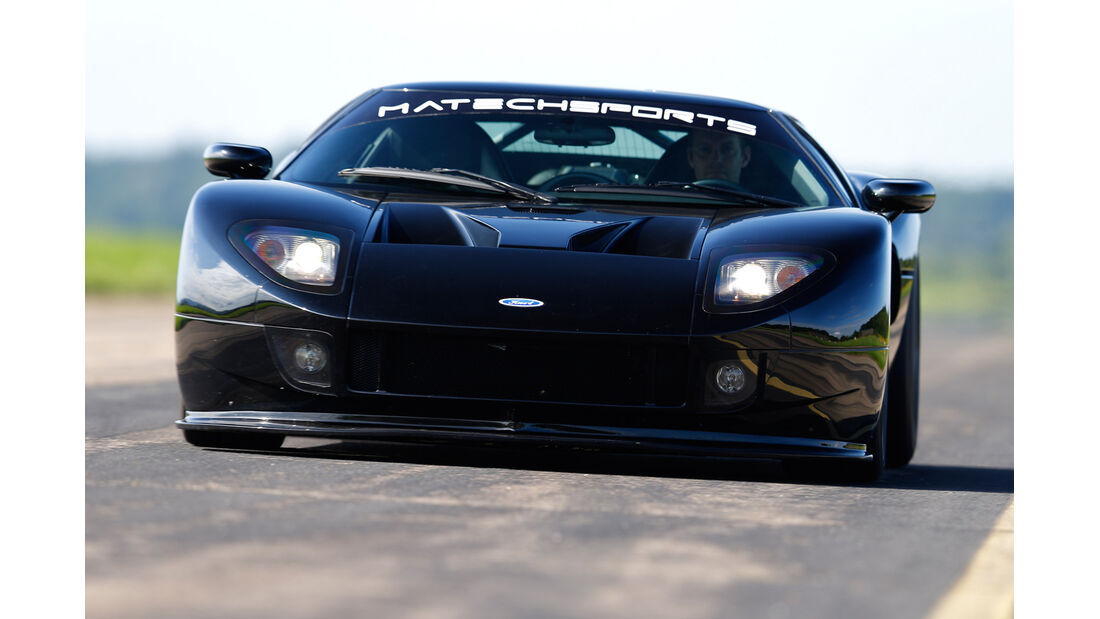 Matechsports-Ford GT, Frontansicht
