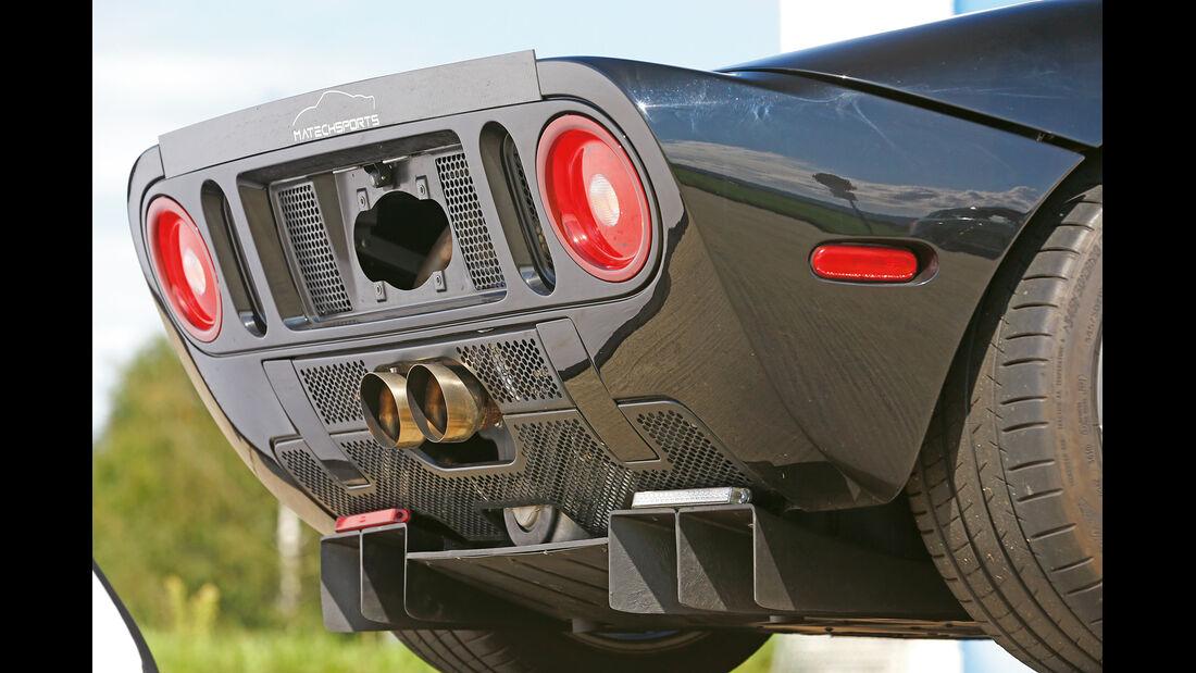 Matechsports-Ford GT, Heck, Heckleuchte