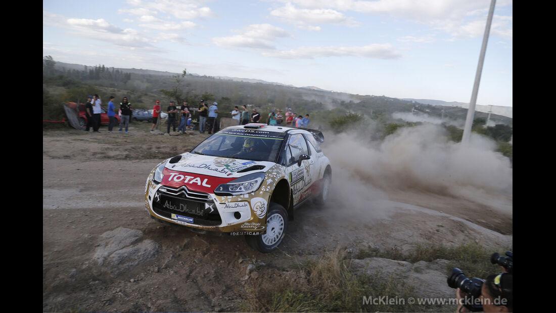 Mats Östberg - WRC - Rallye Argentinien 2015