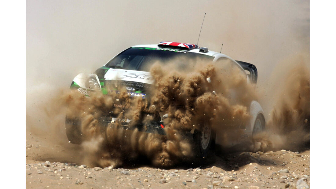 Matthew Wilson - Rallye Jordanien 2011
