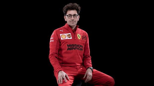 Mattia Binotto - Ferrari - F1 - 2021